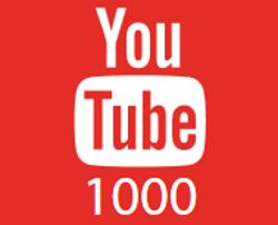 1000 abonnés