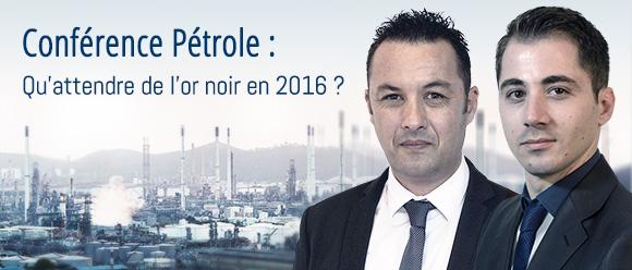 conférence petrole