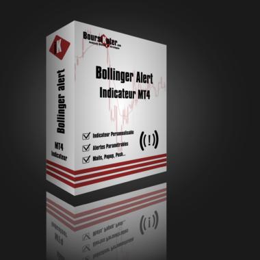 Indicateur MT4 Bollinger alerte