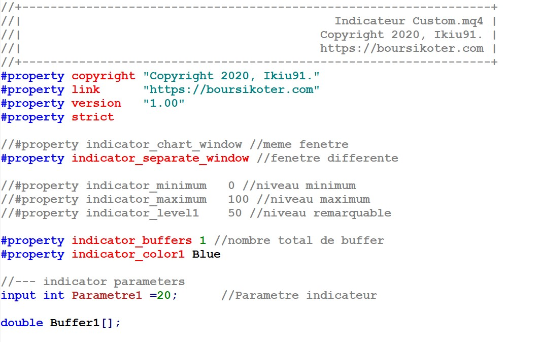 Custom Indicator Indicateur Mt4 Pret A Coder